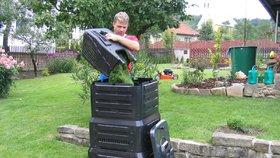 V Lipencích pořídili kompostéry. Místní se k nim uvážou na pět let