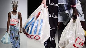 Poslední výstřelek módy! Kabelka, která vypadá jako nákupní taška