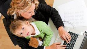Po mateřské zpátky do práce? Zvažte, co zvládnete vy a co dítě