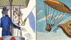 Krutá ironie: Vynálezce padáku André-Jacques Garnerin zemřel při banální nehodě na zemi