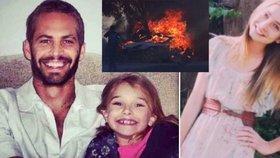 Krásná dcera mrtvé hvězdy Rychle a zběsile poslala tátovi vzkaz do nebe: Jsi můj hrdina!