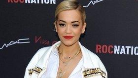 50 odstínů šedi: Bude to vzrušující, slibuje Rita Ora
