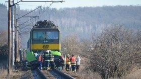 Smrtelná nehoda na železnici: Poblíž Klánovic srazil rychlík člověka. Vlaky mají zpoždění