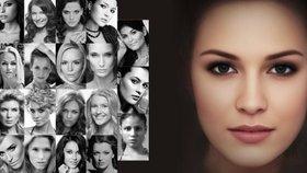 Toto je ideál české krásky! Vědci stvořili superpotrét z tváří vítězek České Miss