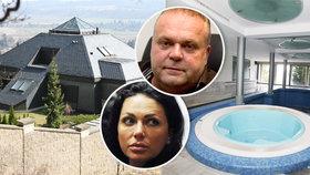 Krejčířova luxusní vila jde do dražby: Manželka uprchlíka u soudu ostrouhala