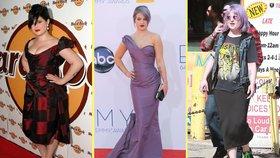 Královna jo-jo efektu: Kelly Osbourne už zase ztloustla!