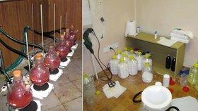 Kriminalisté u Prahy rozbili síť drogových dealerů. Pervitin vařili i poblíž cyklostezky