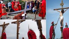 Ukřižování Ježíše: Někde symbolicky, na Filipínách doopravdy!
