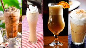 4 netradiční recepty na ledovou kávovou pochoutku: Připravte si osvěžující frappé!