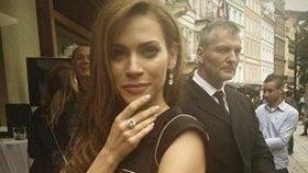 Verešová si odnesla prsten za 55 milionů! Hlídali ji bodyguardi Mela Gibsona!