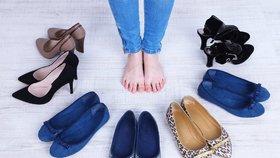 Nosíte správnou velikost bot? Většina žen ne!