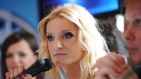 Moderátorka Banášová opět za mikrofonem: Zlato v hrdle, zlato v kapse!