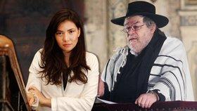 Vymýšlí si, už ze mě udělal těhotnou, brání se Sidonova přítelkyně nařčení vydavatele Židovských listů