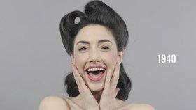100 let make-upu: Jak se líčily dámy první republiky, hippies a jak my?