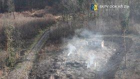 Z Vrbětic se ozvaly další výbuchy! Pyrotechnici budou muset čekat dalších 9 dnů!