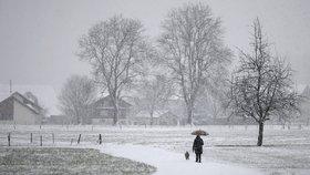 Vytáhněte šály a rukavice: Příští víkend nás čeká bílo a zima