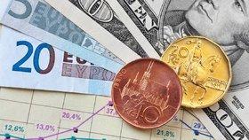 Koruna sílí: K dolaru je nejsilnější za dva roky, dobře si vede i s eurem