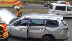 Záhadné zmizení řidiče: Nikdo z nás neřídil, tvrdí celá posádka havarovaného passatu