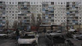 Válka naUkrajině: Ostřelování uvěznilo 500horníků vdole