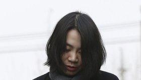 Oříškový skandál dědičky Korean Air: Za zdržení letadla dostala rok vězení!
