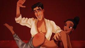 50 odstínů Disney: Slavné princezny a jejich nápadníci jako Christian a Ana