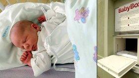 Do strakonického babyboxu někdo odložil novorozenou holčičku: Pojmenovali ji Melitta