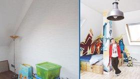 Proměna pokoje pro teenagera: Nuda je pryč, teď tu vládnou graffiti