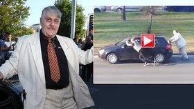 Vystupovat a tlačit: Jonáka a jeho partu zradilo auto!
