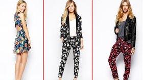 Květinové vzory ovládnou jaro: Pořiďte si hravé šaty, kalhoty i kabelku!