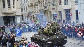 Slavnosti svobody v Plzni: Vrátí se konvoj s 200 tanky, teréňáky a další technikou!