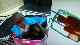 Chlapec, který se propašoval do Španělska v kufru: Má vízum!