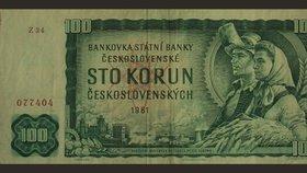 Rolnice a hutník: Stovka ze socialistického Československa patří k nejhezčím bankovkám světa
