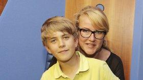 Vendula Pizingerová o netradičním koníčku syna: Vůbec nevím, po kom to má