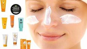 Velký test opalovacích krémů: Na obličej potřebujete jiný než na tělo