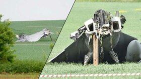 Nehodu gripenu v Čáslavi způsobil pilot: Brzdil i akceleroval zároveň