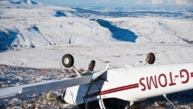 Na Aljašce se zřítilo vyhlídkové letadlo, nikdo z posádky nepřežil