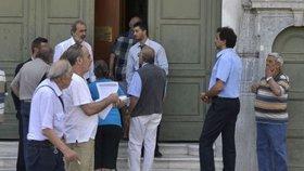 Řecké banky: Peníze máme už jen na dva dny