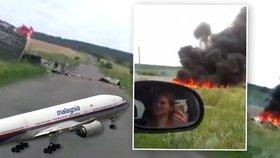 Let MH17 sestřelila ruská raketa, potvrdili experti. Přilétla od separatistů