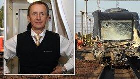 Strojvedoucí vlaku ze Studénky prozradil: Já na té směně ani neměl být