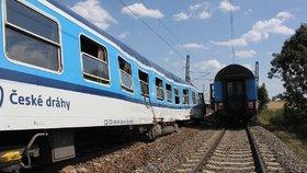 Mezi Brnem a Českou Třebovou nejezdily vlaky: Rychlík srazil člověka