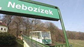 Pražská lanovka na Petřín se v září na sedm měsíců zastaví