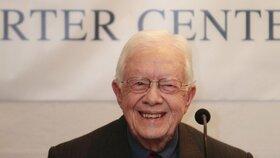 Americký exprezident Jimmy Carter má rakovinu, nemoc se šíří stále dál