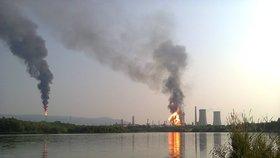 Petrolejářům zvedl náladu požár v Unipetrolu. Pojistka nečekaně zvýšila zisky
