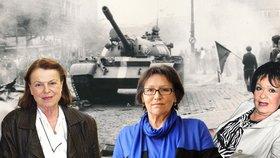 Celebrity vzpomínají na 21. srpen 1968: Co dělali Janžurová, Kubišová, Bohdalová nebo Štaidl?