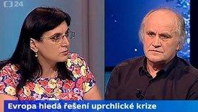 Hádka Kocába a Samkové kvůli uprchlíkům naštvala vědce. Ti dva že jsou experti?