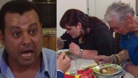 Prostřeno je na ho*no, tvrdí rázný Egypťan Abi a hrozí televizi žalobou