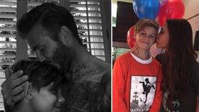 U Beckhamů se slavilo: Syn Romeo měl 13. narozeniny!