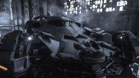 Batmobil jako opancéřovaný vůz: Takto vypadá vůz Temného rytíře ve filmu Batman vs. Superman