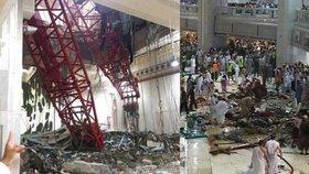 Bilance neštěstí v Mekce: Nejméně 107 mrtvých a přes 230 zraněných
