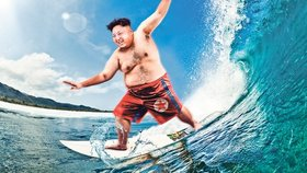Diktátor Kim Čong-un (32) : V Severní Koreji otevírá tábor pro surfaře!